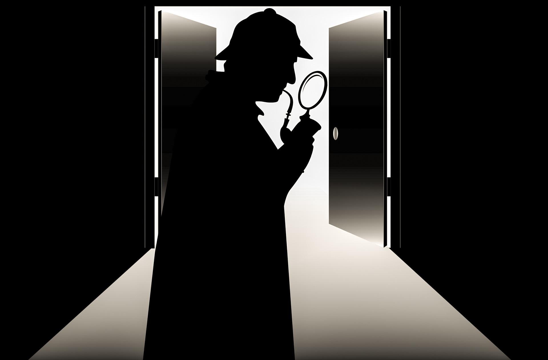 シャーロック・ホームズを題材にしている作品紹介ページの画像
